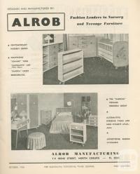 Alrob, Coburg North, 1956