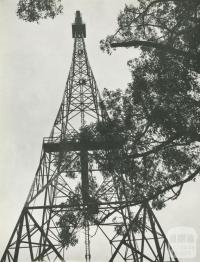 Herald-Sun Television Tower at Mount Dandenong, 1956