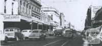 Chapel Street, Prahran, 1953