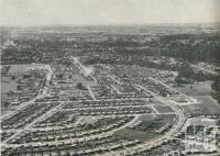 Aerial View of Housing Commission Homes, Wangaratta, 1960
