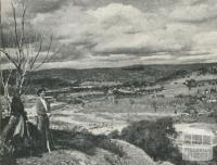 Overlooking Eldorado, historical tin and gold mining area, 1960