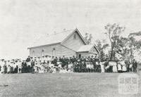 Dedication of Zion Lutheran Church, Arkona, 1924