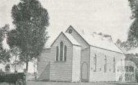 Zion Lutheran Church, Bangerang, 1924