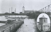 The Old Time-Ball and Tide Gauge, Williamstown, 1934