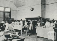 Cookery Centre, Warragul High School, 1912