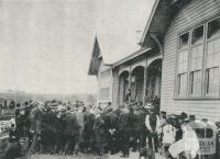 Warragul High School opening, 1912