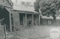 First House in Box Hill (1832), south of the railway line, 1956