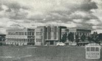 Boy's Technical School, Box Hill, 1956
