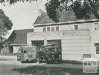 Metropolitan Fire Brigade, Box Hill, 1956