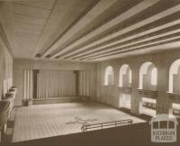Town Hall, Main Auditorium, Ivanhoe, 1937