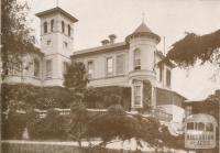 Sherwood House, Ivanhoe Grammar School, 1937