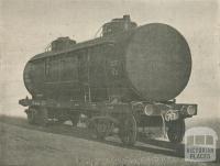 Rail Car Tank manufactured at Williamstown Works, 1957
