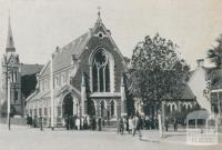Evangelical-Lutheran Church, East Melbourne, 1932