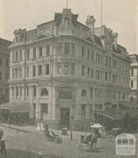 Victorian Government Tourist Bureau, Collins Street, Melbourne, 1918
