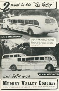 Murray Valley Coaches, 1950