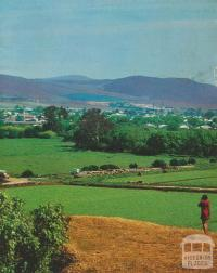 View over Bacchus Marsh, 1968