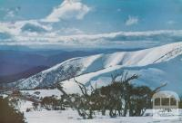 The Bon Accord Spur, part of the Razorback, Mount Buffalo, c1960