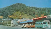 Shopping Centre, Mount Beauty township, c1960
