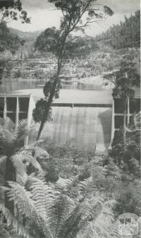 Junction Dam, East Kiewa River, c1960
