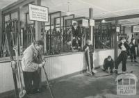 Sports Room, The Chalet, Mount Buffalo, c1960