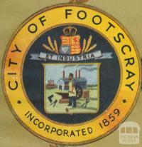 City of Footscray Crest, 1947