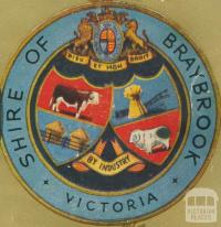 Shire of Braybrook Crest, 1947