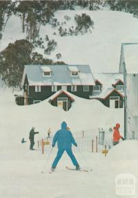 Skiing at Falls Creek, 1971