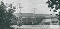 Yallourn-Melbourne electricity transmission lines, 1954