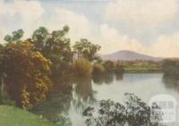 A scene on the Mitchell River, Bairnsdale Shire, 1934
