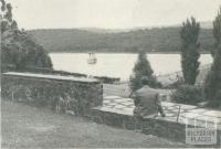 Silvan Reservoir, Upper Yarra Dam, 1954