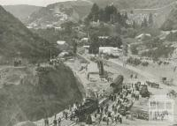First train to Walhalla, c1910