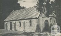 St Stephens Church of England (1865), Mount Waverley, 1961