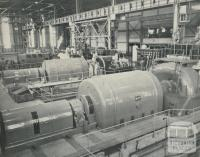 Power Station turbine room, Morwell, 1959