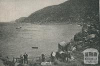 Western Landing Place, Wilson's Promontory, 1910