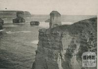 Bay of Islands, Port Campbell, 1910