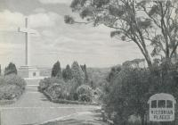 Memorial Cross, Mount Macedon, 1959