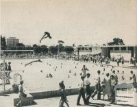 The Olympic Swimming Pool (War Memorial), Horsham, 1960