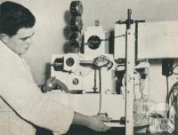 Laboratory, Noske Bros Flour Mill, Horsham, 1960