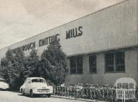 Knitting Mills factory, Tuaggra Street, Maryborough, 1961