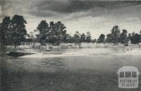 Water Skiing on Lake Victoria, Princes Park, Maryborough, 1961