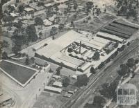 The North Western Woollen Mills, Stawell, 1962