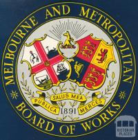 Melbourne and Metropolitan Board of Works Crest, 1955