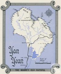 Map Yan Yean Reservoir, 1960