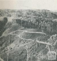 Grand Ridge Road, near Traralgon, c1952