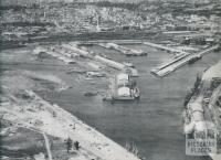Victoria Dock, Port of Melbourne, 1958