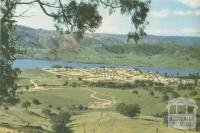 The new township of Tallangatta, 1960