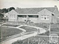 A housing duplex, Newtown Estate, 1942