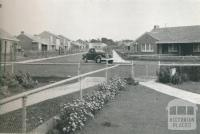 Newtown Estate, land gifted by the council for the estate project, 1942
