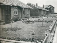 Gardens on Fisherman's Bend Estate, 1942