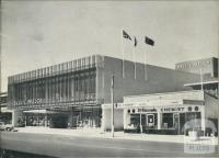 Frontage of the new Ball & Welch Store, 10 Playne Street, Frankston, 1961